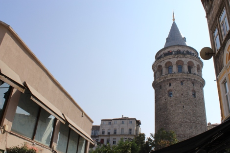 An iconic landmark of the Galata quarters.